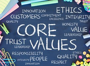 Organisational integrity, core values, innovation, leadership, people, trust, ethics, ClearVoice Comms, Silke Brittain