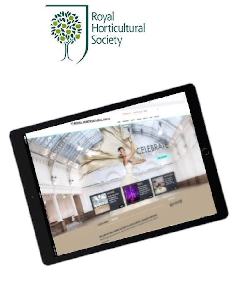 Portfolio, Brand awareness, Royal Horticultural Society, Royal Horticultural Halls, planning, research, communication, target audiences, engagement, lead generation, strategy