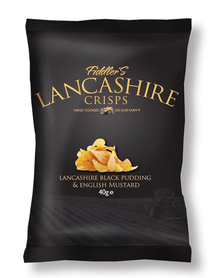 Fiddler's Lancashire Crisps, Black Pudding, Portfolio, ClearVoice Comms, Silke Brittain, case studies