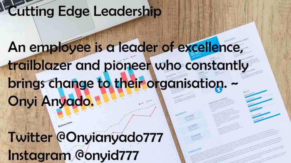 trailblazer and pioneer, leadership distinction, onyi any ado, cutting edge leadership, clearvoice comms, Silke Brittain, employees, leader of excellence