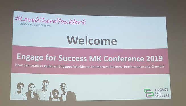 engage for success MK conference, engage for success, Cranfield, ClearVoice Comms, Silke Brittain