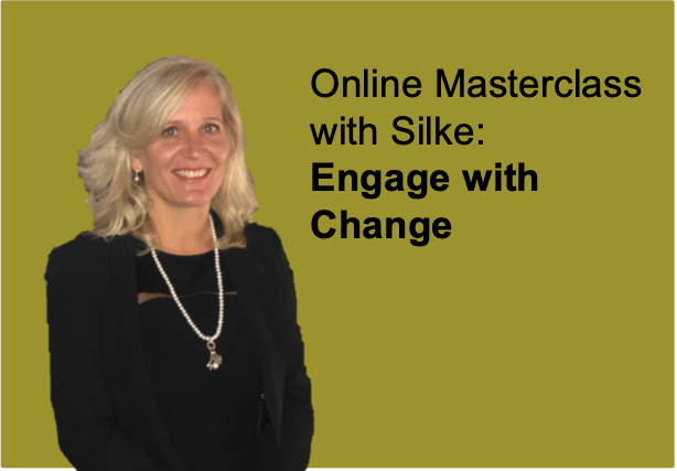 Engage with Change, Online Masterclass, Silke Brittain, ClearVoice Comms