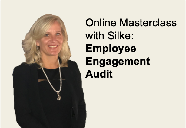 Employee engagement audit, employee voice, employee experience, strategic thinking, online masterclass, remote masterclass, Silke Brittain