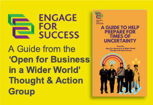 Engage for Success, Thought and Action Group, TAG, Open for Business in a Wider World, Guide, Panel Discussion, Silke Brittain, ClearVoice Comms