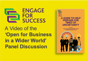 Engage for Success, Thought and Action Group, TAG, Open for Business in a Wider World, Video, Panel Discussion, Silke Brittain, ClearVoice Comms