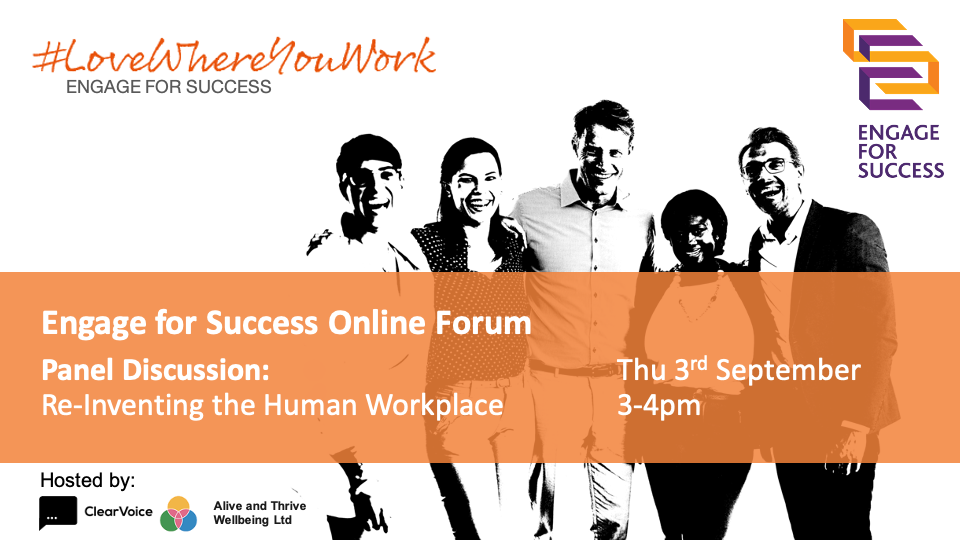 Panel Discussion, Reinventing the human workplace
