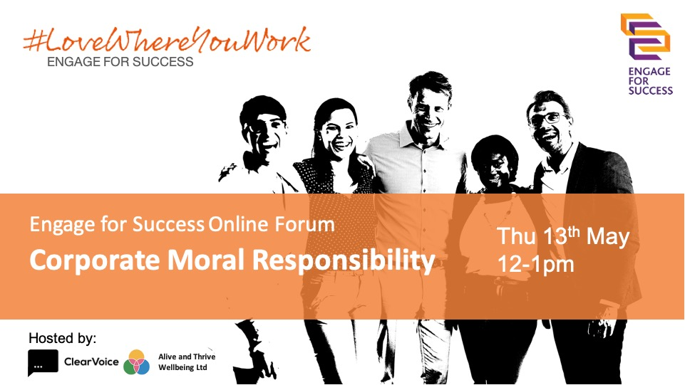 Corporate Moral Responsibility Webinar